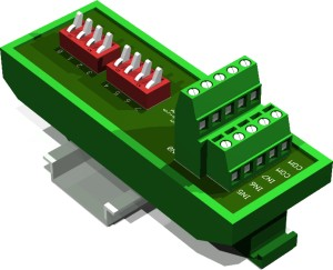 Digital Input Simulator (8 point, Din Rail Mount)