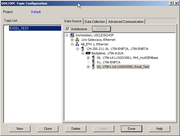 Connecting Excel to ControlLogix | PLCdev